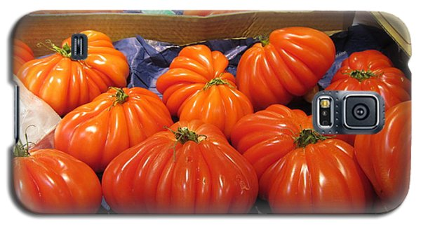 Ribbed Tomatoes Galaxy S5 Case by Pema Hou