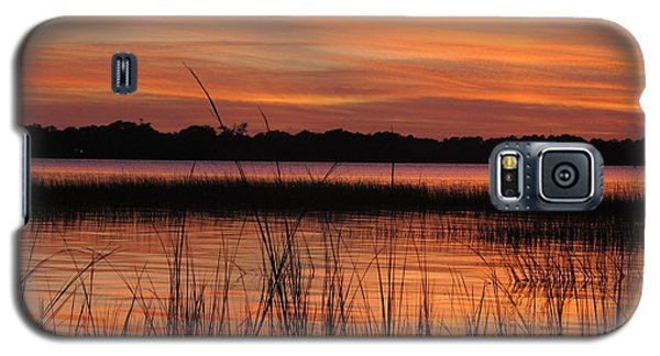 Galaxy S5 Case featuring the photograph Ribbon Reflections by Joetta Beauford