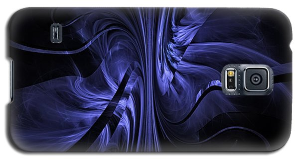 Ribbons Of Time Galaxy S5 Case by GJ Blackman