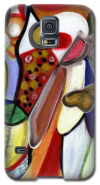 Galaxy S5 Case featuring the painting Rich In Character by Stephen Lucas