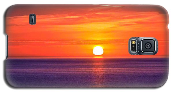 Rich Sunset Galaxy S5 Case by Jocelyn Kahawai