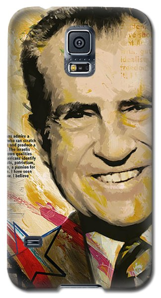 Richard Nixon Galaxy S5 Case by Corporate Art Task Force