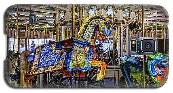 Ride A Painted Pony - Coney Island 2013 - Brooklyn - New York Galaxy S5 Case by Madeline Ellis