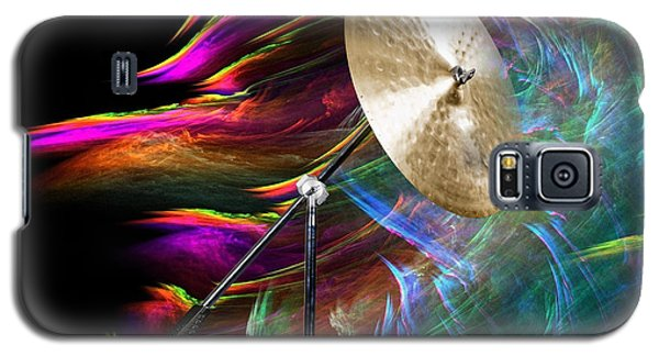Ride Or Suspended Cymbal In Color 3241.02 Galaxy S5 Case
