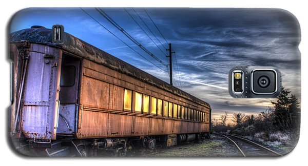 Ride The Rails Galaxy S5 Case by Andrew Pacheco