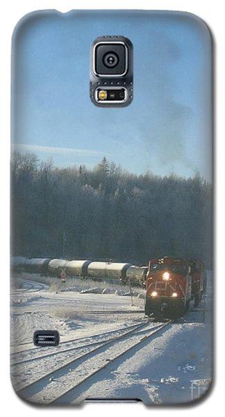 Ride The Rails Galaxy S5 Case