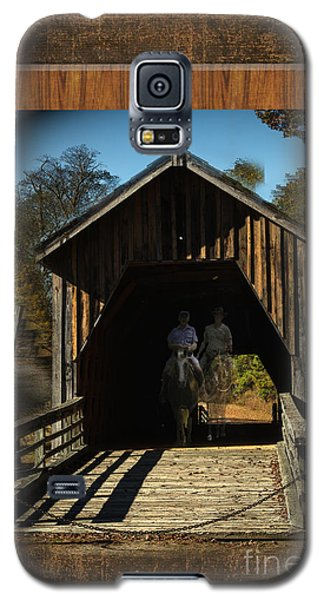 Riders From The Pass Galaxy S5 Case by Donna Brown
