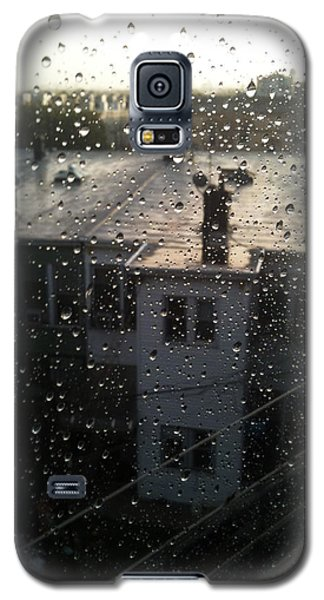 Ridgewood Houses Wet With Rain Galaxy S5 Case