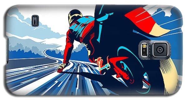 Riding On The Edge Galaxy S5 Case