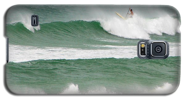 Riding The Waves Galaxy S5 Case by Mariarosa Rockefeller