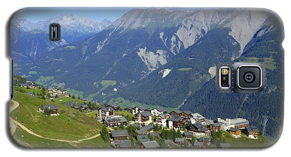 Riederalp Valais Swiss Alps Switzerland Galaxy S5 Case