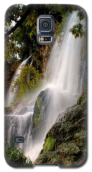 Galaxy S5 Case featuring the photograph Rifle Falls by Priscilla Burgers