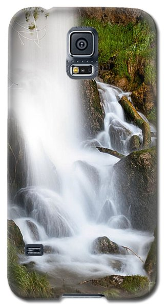 Galaxy S5 Case featuring the photograph Rifle Falls by Steven Reed