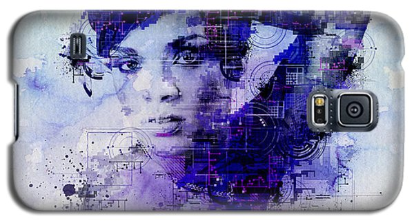 Rihanna 2 Galaxy S5 Case by Bekim Art