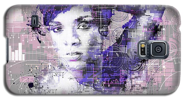 Rihanna 3 Galaxy S5 Case by Bekim Art