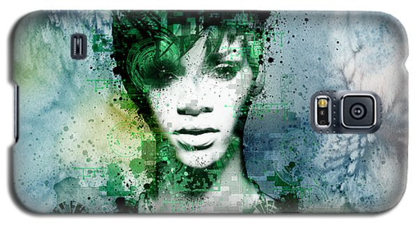 Rihanna 4 Galaxy S5 Case by Bekim Art