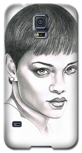 Rihanna Galaxy S5 Case by Murphy Elliott