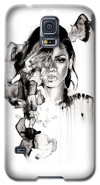 Rihanna Stay Galaxy S5 Case by Molly Picklesimer