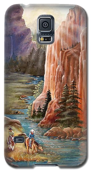 Rim Canyon Ride Galaxy S5 Case