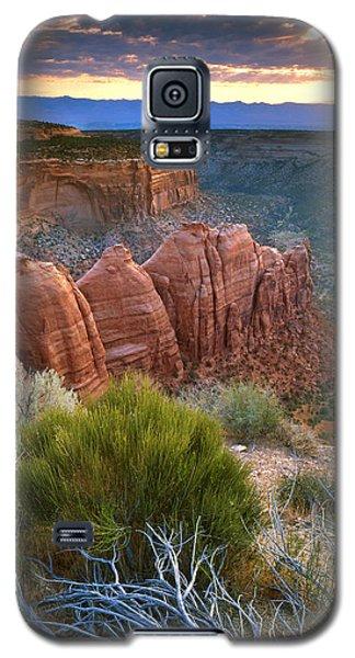 Rim Drive Sunrise Galaxy S5 Case