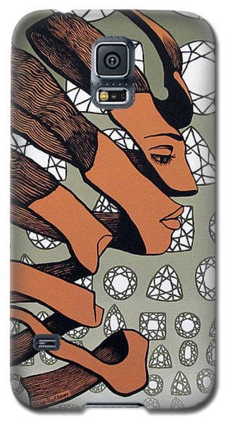 Galaxy S5 Case featuring the painting Rind Beauty by Malinda Prudhomme