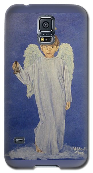Galaxy S5 Case featuring the painting Ring-a-ding by Wendy Shoults