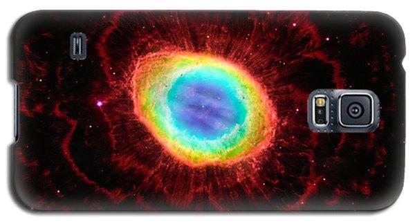 Ring Nebula's True Shape Galaxy S5 Case