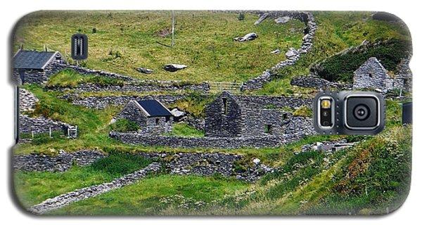 Ring Of Kerry Irish Stone Galaxy S5 Case by Melinda Saminski