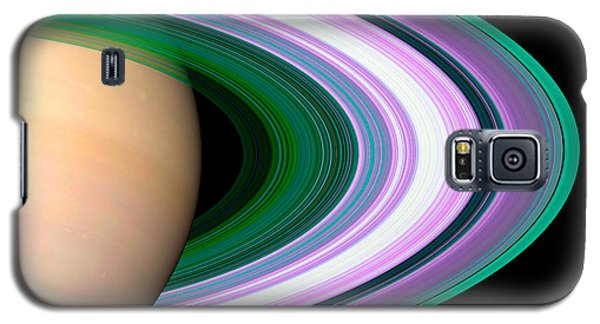 Rings Of Saturn Galaxy S5 Case