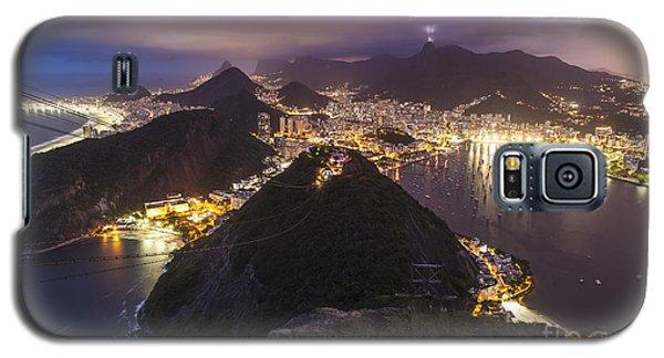 Rio Evening Cityscape Panorama Galaxy S5 Case