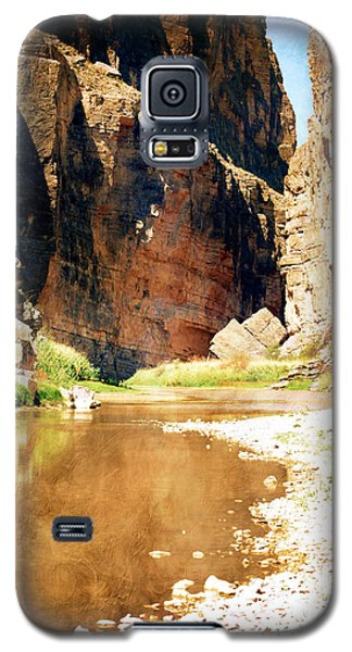 Rio Grande At Santa Elena Canyon Galaxy S5 Case