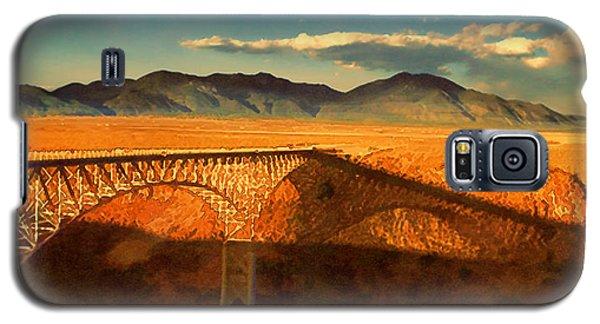 Rio Grande Gorge Bridge Heading To Taos Galaxy S5 Case by Douglas MooreZart