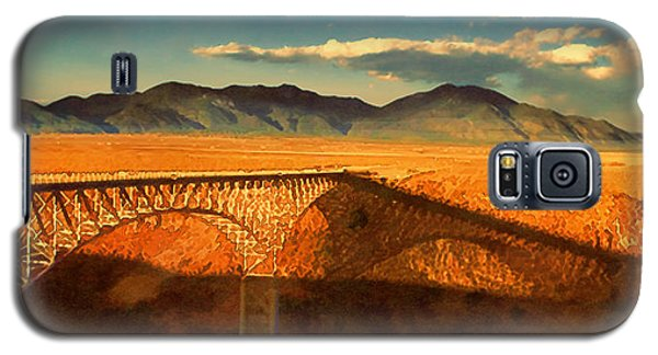 Rio Grande Gorge Bridge Heading To Taos Galaxy S5 Case