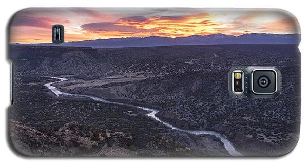 Rio Grande River Sunrise - White Rock New Mexico Galaxy S5 Case