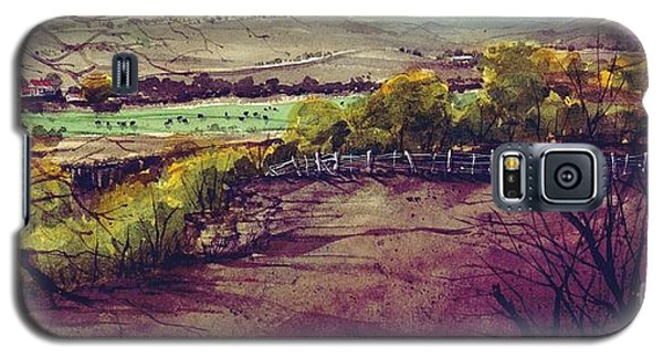 Galaxy S5 Case featuring the painting Rio Penasco Ranch by Tim Oliver