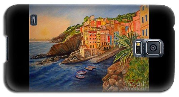 Riomaggiore Amore Galaxy S5 Case by Julie Brugh Riffey