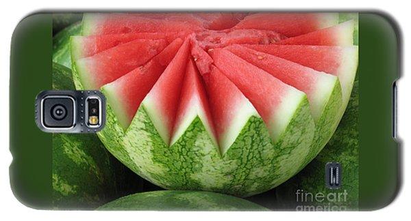 Ripe Watermelon Galaxy S5 Case by Ann Horn