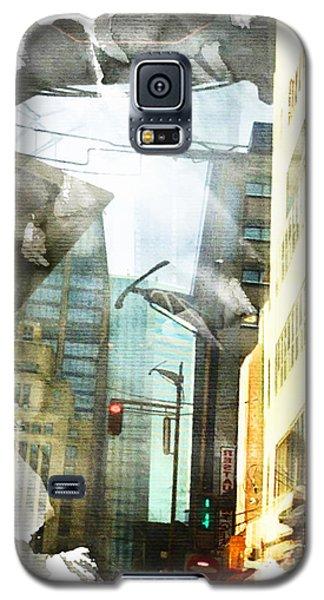 Ripped Cityscape Galaxy S5 Case by Andrea Barbieri