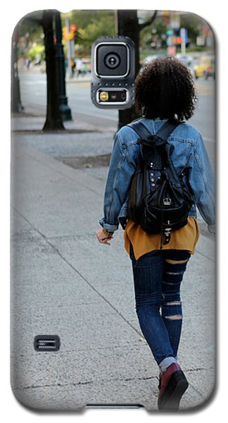 Galaxy S5 Case featuring the photograph Ripped Jeans On The Run by Dorin Adrian Berbier