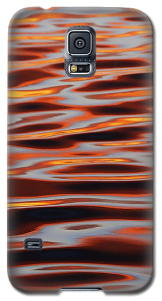 Ripples At Sunset Galaxy S5 Case