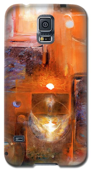 Galaxy S5 Case featuring the painting Rise And Shine 1 by Brooks Garten Hauschild