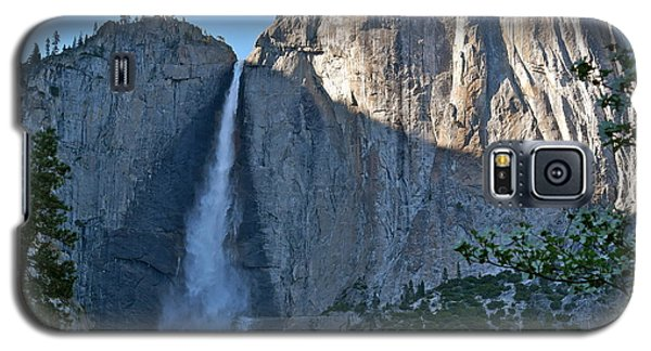 Rising Sun At Upper Yosemite Falls Galaxy S5 Case
