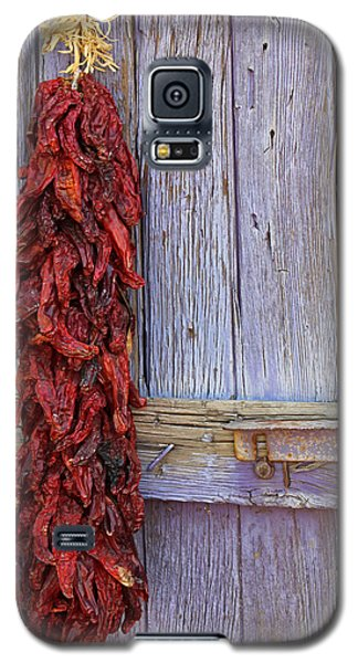 Galaxy S5 Case featuring the photograph Ristra by Lynn Sprowl
