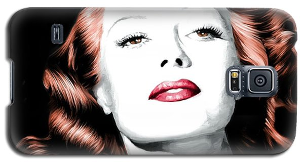 Rita Hayworth Large Size Portrait Galaxy S5 Case