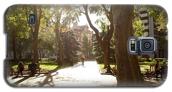 Rittenhouse In The Sun Galaxy S5 Case by Christopher Woods