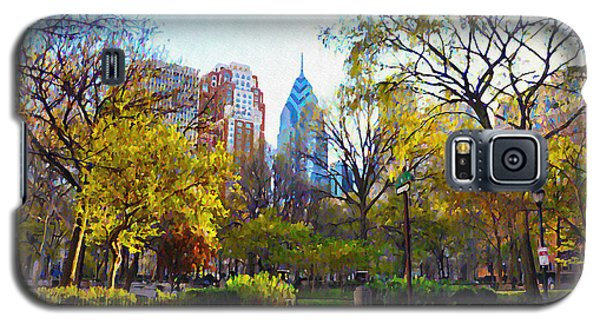 Rittenhouse Square In The Spring Galaxy S5 Case