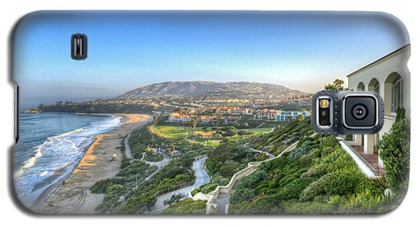 Ritz-carlton Laguna Niguel Ocean View Galaxy S5 Case by David Zanzinger