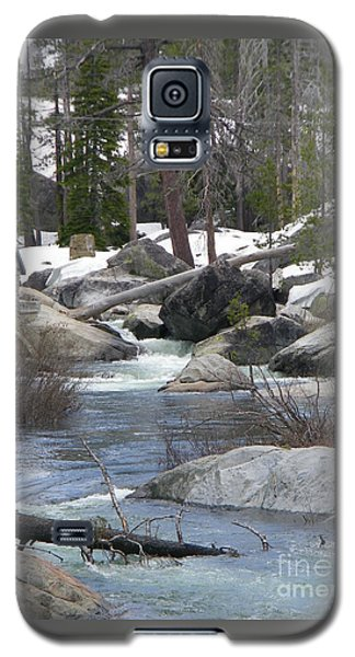 Galaxy S5 Case featuring the photograph River Cabin by Bobbee Rickard