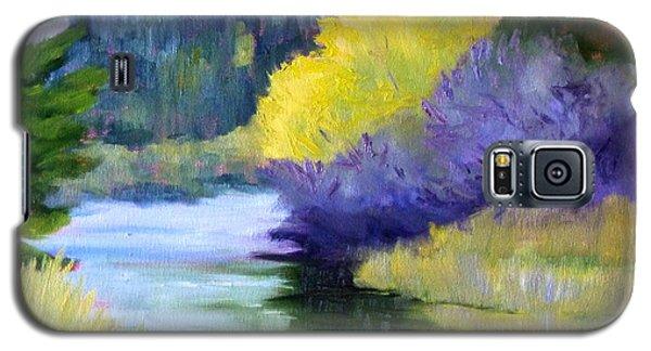 River Color Galaxy S5 Case