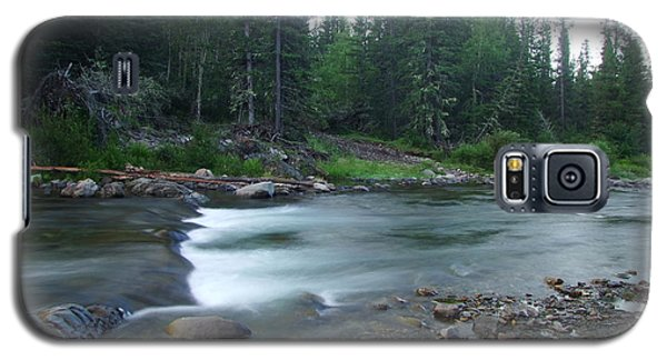 Trout Stream 001 Galaxy S5 Case